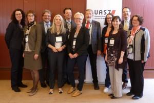 Vertreterinnen und Vertreter der UAS7 beim Empfang im Denver Athletic Club